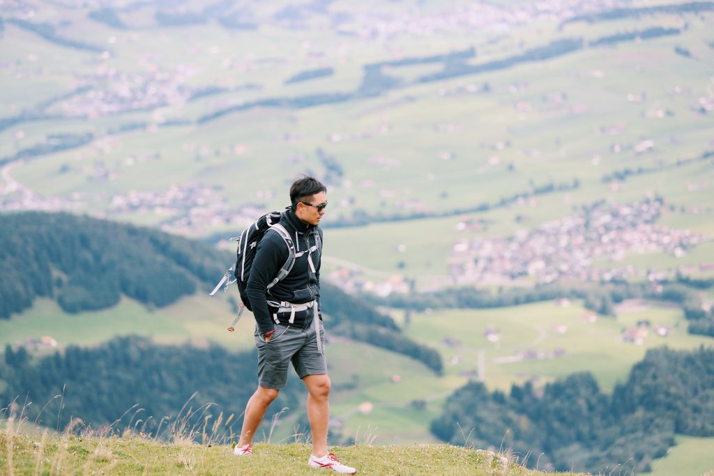 Ethan Yang hiking